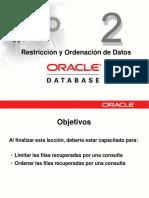 02 Restricción y Ordenación de Datos