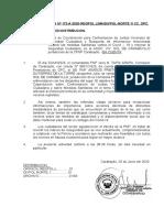 NI Nº 172-A-2020-VISITA DE COORDINACIÓN PARA CONFORMACION DE JUNTA VECINALE DE SEGURIDAD CIUDADANA Y MEDIDAS SANITARIAS EN EL TEMA COVID -19, EN LA ASOC. SOL DE CARABAYLLO - 20JUN2020-OPC CARABAYLLO