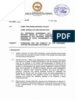 DILG MC 2020-73 Guidelines for the Conduct of the Expanded Testing Procedures for COVID-19