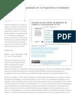 Dolinko Lecturas sobre el grabado en la Argentina