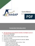 01 Introduccion Curso Básico GI-mhGAP