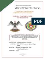 ANALISIS -AUDITORIA DE CUMPLIMIENTO -MUNICIPALIDAD PROVINCIAL DE LORETO -INCATTITO FLOR - VALER ERLEN