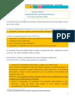 HOJA DE RUTA ENIA 1 2020