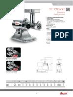 Sirman Meat Mincer TC 22E.pdf