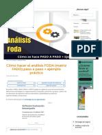 Matriz FODA_ 6 pasos para realizarla + formato y ejemplo práctico