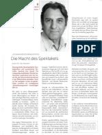 Kommunikationsberater Dr. Udo Nimsdorf in Marketing Profile 06/2010