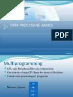 Data Processing Basics