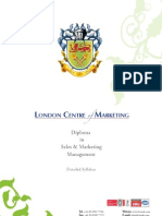 Diploma in Sales and Marketing Management