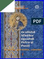 Acatistul Sfinţilor Apostoli Petru şi Pavel