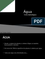 7-Ecossistemas Ciclo hidrologico
