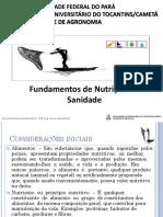 AULA 04. NUTRIÇÃO e SANIDADE PDF