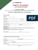 BSBMKG609 Assessment Title