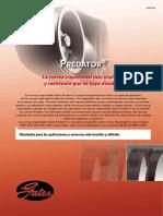Correas Gates Predator
