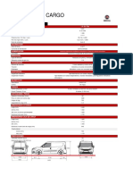 Ficha técnica Doblo Cargo