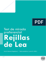 TEST LEA y AV pediatrica