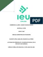 ACTIVIDAD DE APRENDIZAJE 2. ELABORACIÓN INICIAL DE UN PROYECTO DE INVERSIÓN..docx