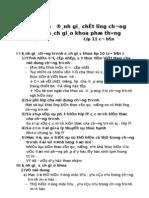 Góp ý sách giáo khoa - Môn toán 11 - Cơ bản