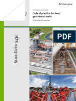 New Zealand Standard (Geothermal Wells)