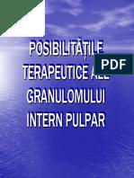 Pulpitele cronice granulomul intern pulpar.pdf