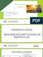 MOVIMIENTO RECTILÍNEO DE UNA PARTÍCULA - TRABAJO DE EXPOSICIÓN - (TAPIA SALAZAR) Y (ZURITA CRUZ).pptx