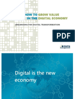 How to Grow Value in the Digital Economy