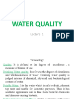 1.Water Quality Criteria and standards