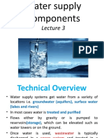3.Components of Water Supply