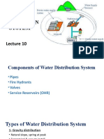 4.Water Supply Distribution & Pipes