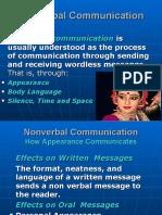 Presentation Non Verbal Communication
