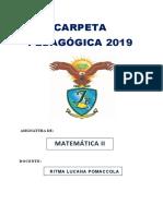 Carpeta Pedagogica Ritma 2019 Jb