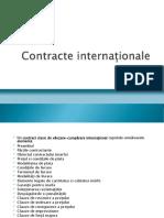 Contracte internaționale