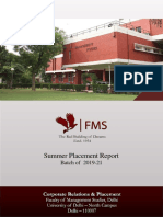FMS_Summer Placement Report_2019