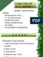 a-Optimized Quality analysis of cocoa beans - PT Effem, Vietnam April 07