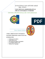 ENSAYO SISTEMA TRIBUTARIO PERUANO OFICIAL