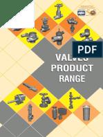 Valves Product Range
