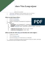 1-Procédure Visa