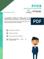 Guía presentación PITCH
