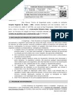 Parecer Técnico PTE  207 HRO manutenção ar condicionado