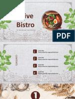 Presentation management on restaurant