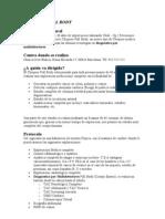 SERVICIOS CENTROS MEDICOS CREU BLANCA