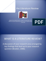 craftingtheliteraturereview-120331125310-phpapp02