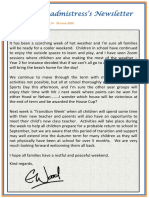 Newsletter No 114 - 26th June 2020