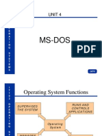 IT103_Unit 4_ Basic MS-DOS Command Line Interface (CLI)
