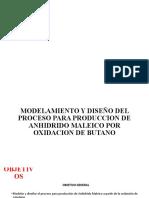 DISEÑO DE ANHIDRIDO MALEICO