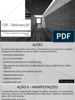 CES – Reforma Já!