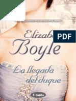 La llegada del duque - Elisabeth Boyle.pdf