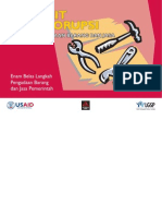 Toolkit Anti Korupsi Bidang Pengadaan Barang Dan Jasa (2009)