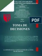 Grupo 07 Toma de Decisiones - Desarrollo de Comptencias Directivas