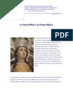 La Santa Misa y la Virgen María.