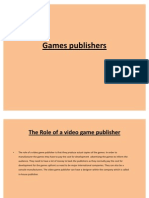 Games Publishers